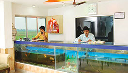 Hotel Dolphin, Digha- Reception